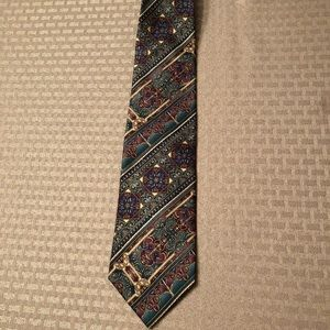 "Bill Blass 4"" colorful men's tie"